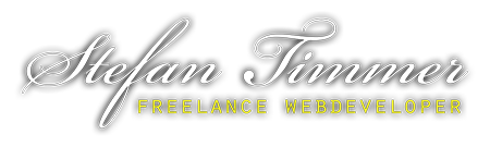 Stefan Timmer - Freelance webdeveloper
